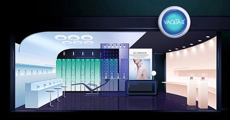 索图上海展示设计|衣柜设计加盟店连锁、餐饮和厕所设计图图片